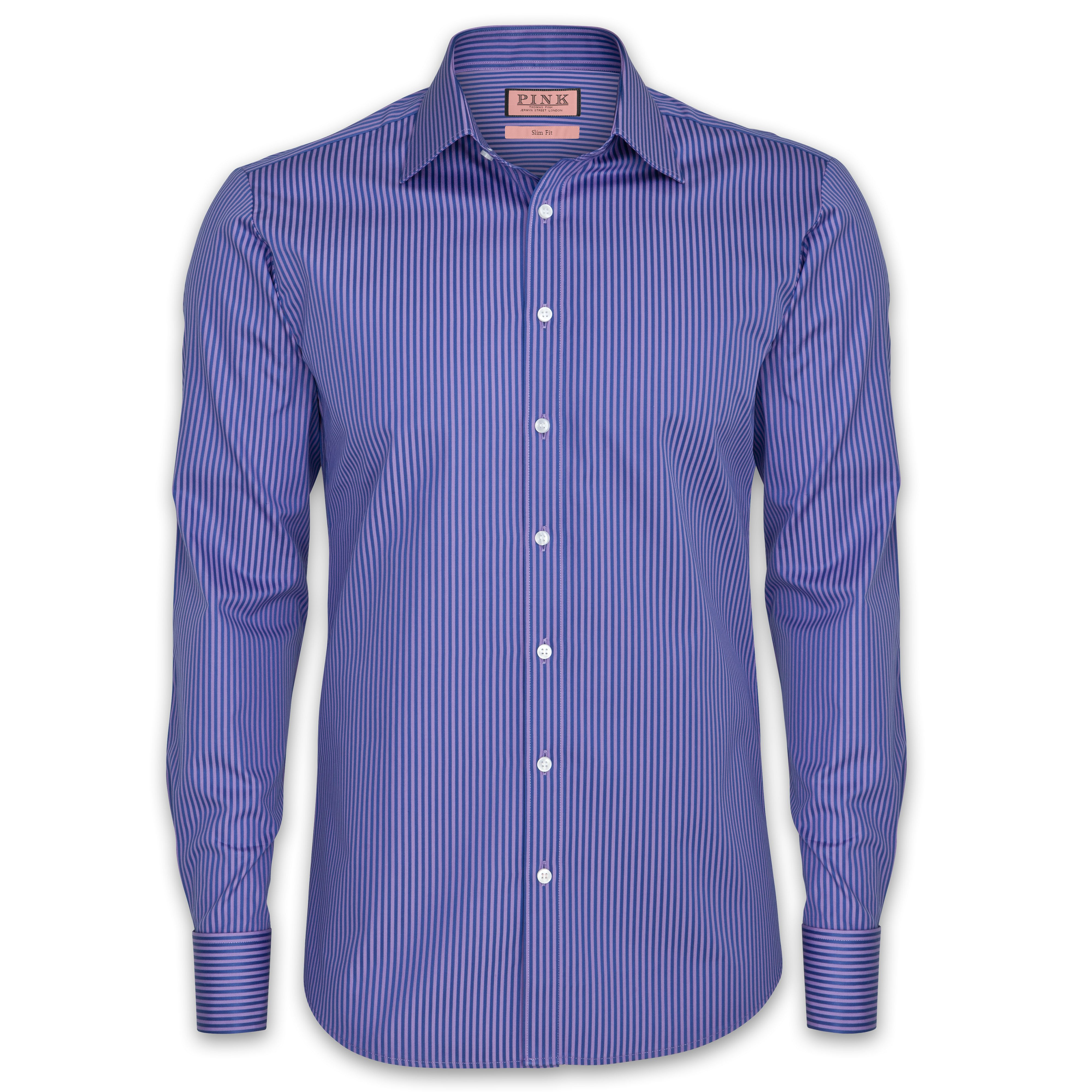 Slim Fit Courtnell Stripe Shirt