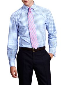 Thomas Pink Coddenham check slim fit shirt