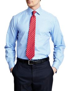 Thomas Pink Kilmoray Check Slim Fit Shirt