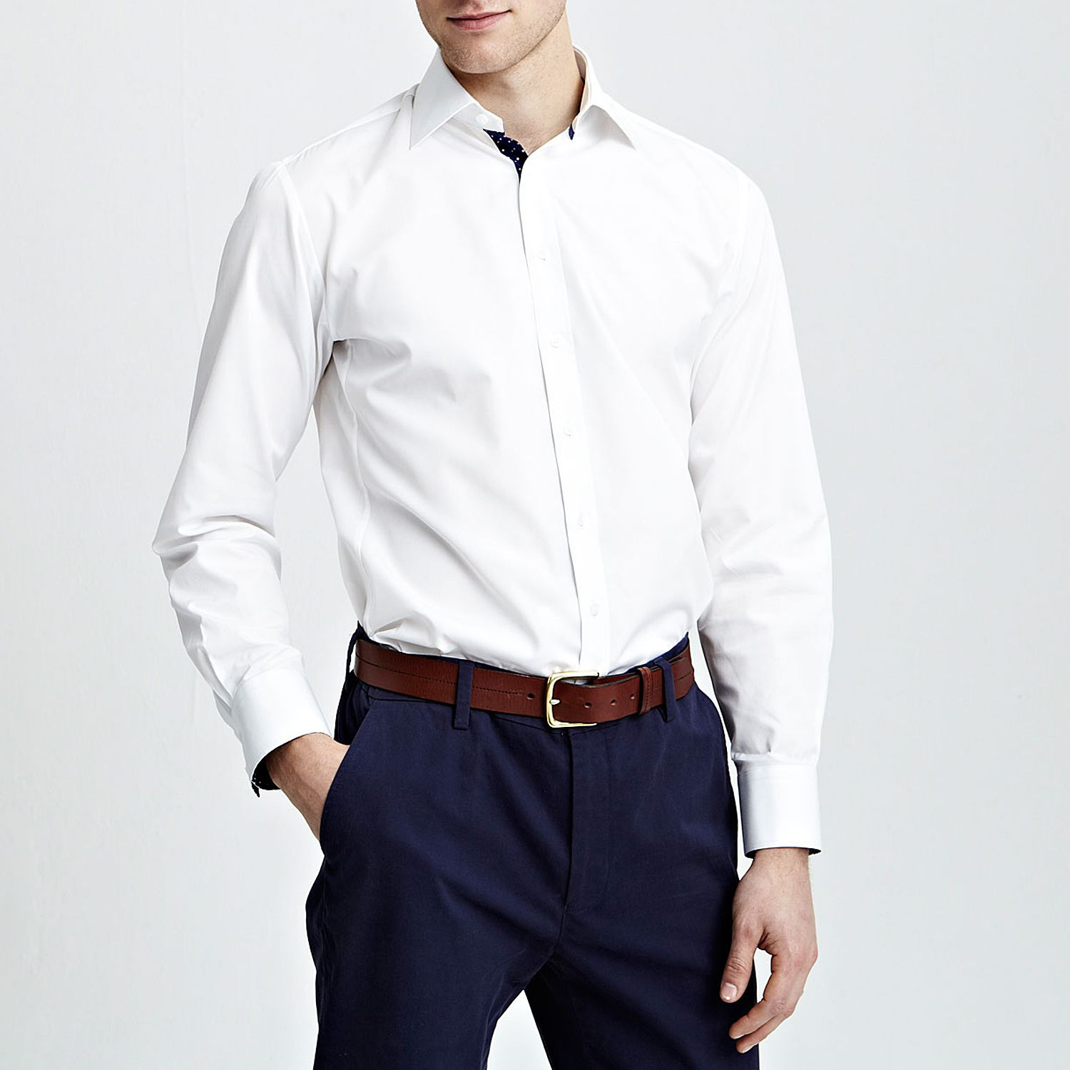 Slim fit macquarie plain shirt
