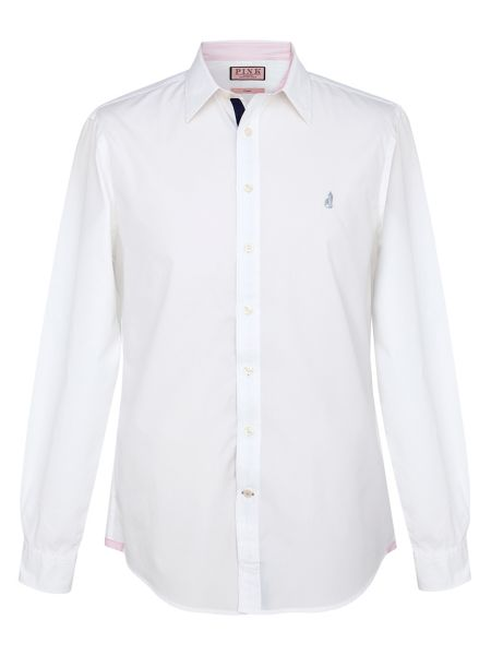Thomas Pink Snell plain long sleeved shirt