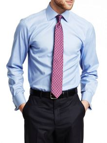 Royal Oxford Slim Fit Double Cuff Shirt