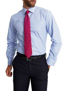 Slim fit double cuff shirt