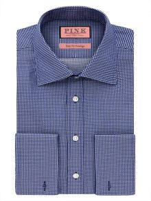 Thomas Pink Johnson Texture Slim Fit Shirt