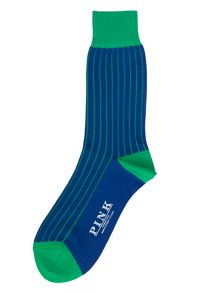 Tenby stripe socks
