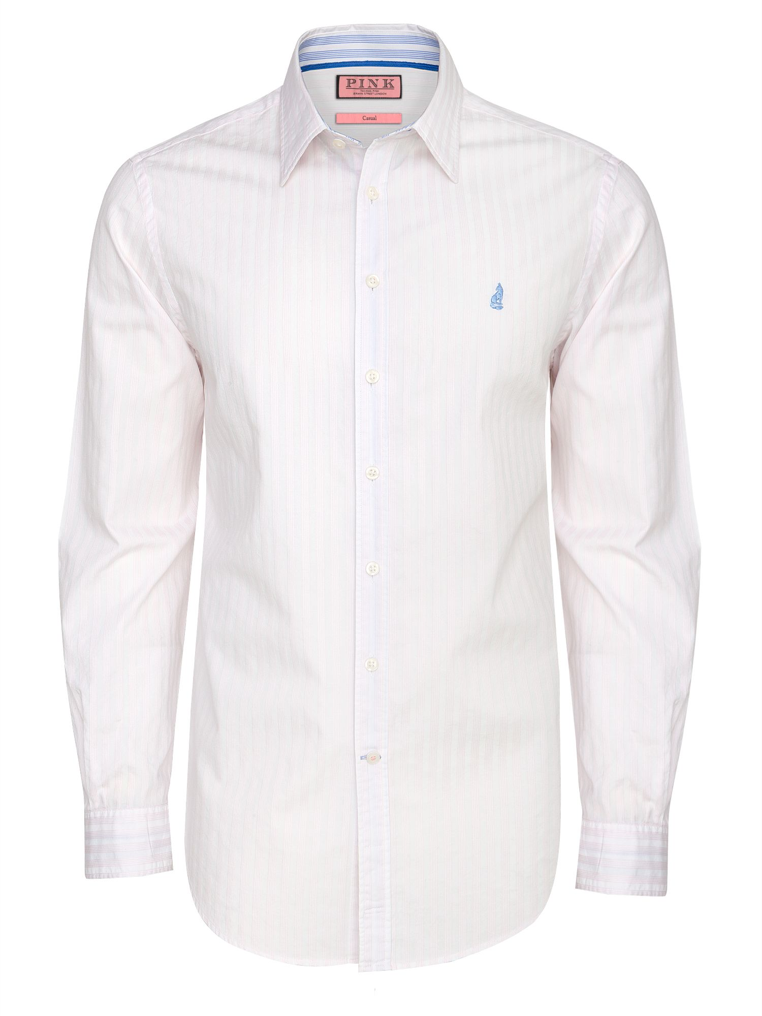 Gallardo stripe long sleeve shirt