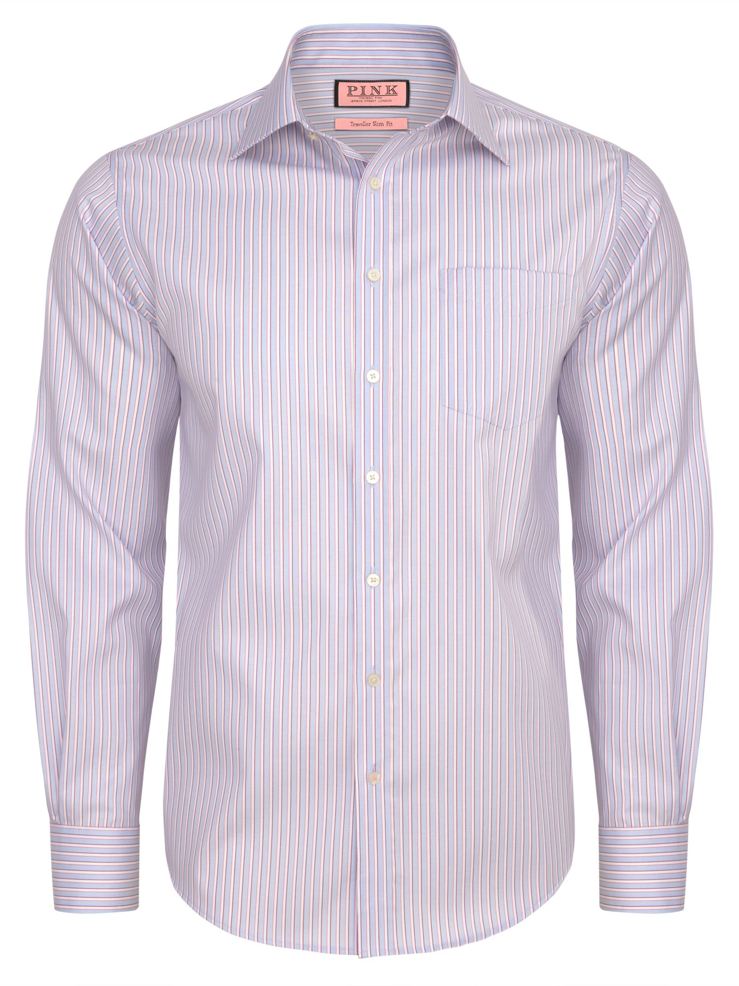Dowling stripe long sleeve shirt
