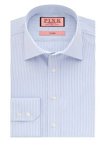 Hillard stripe button cuff shirt