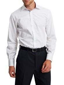 Vencourt plain button cuff shirt