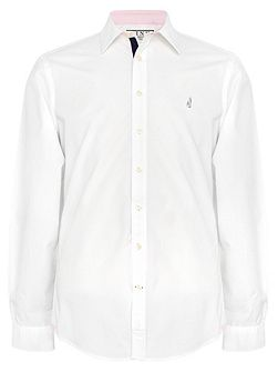 Snell Plain Classic Fit Button Cuff Shirt