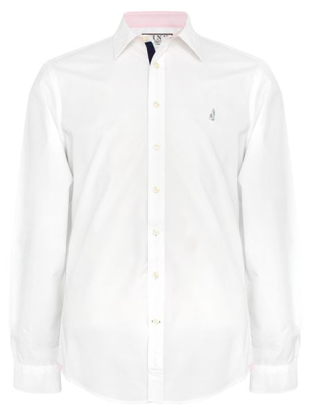Thomas Pink Snell Plain Classic Fit Button Cuff Shirt
