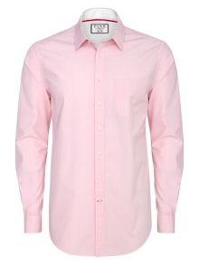 Thomas Pink Longitude check slim button cuff shirt