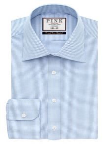 Thomas Pink Davenport Texture Slim Fit Shirt