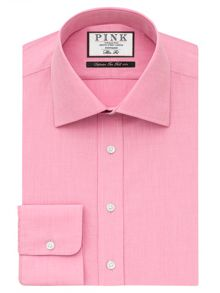 Derick Plain Slim Fit Shirt