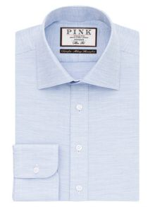 Thomas Pink Deane Texture Slim Fit Shirt