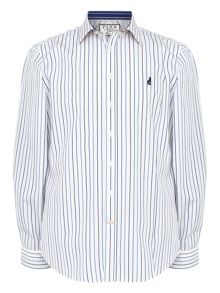Thomas Pink Melford Stripe Classic Fit Shirt
