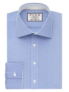 Thomas Pink Perkins Check Super Slim Fit Shirt