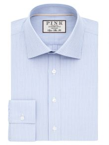 Thomas Pink Alvey Stripe Super Slim Fit Shirt