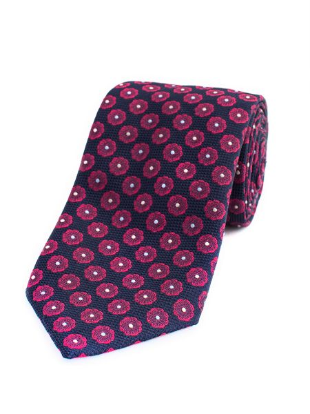 Thomas Pink Holywell Flower Woven Tie
