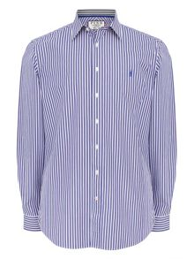 Thomas Pink Fradelle Stripe Classic Fit Shirt
