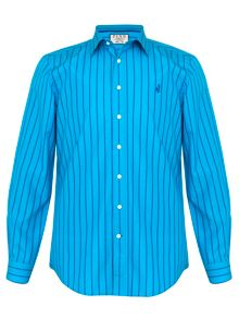 Thomas Pink Rex Stripe Classic Fit Button Cuff Shirt