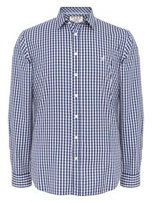 Thomas Pink Evenson Check Slim Fit Button Cuff Shirt