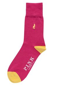 Thomas Pink Fox Socks