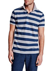 Thomas Pink Harmer Stripe Polo Shirt
