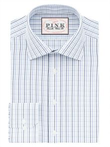Thomas Pink Barton Check Classic Fit Shirt