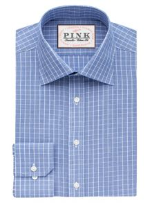 Thomas Pink Christie Check Classic Fit Shirt