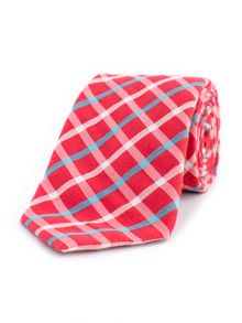 Thomas Pink Woolsey Check Woven Tie
