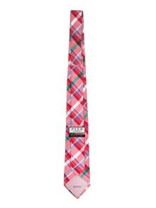 Thomas Pink Hayes Check Woven Tie