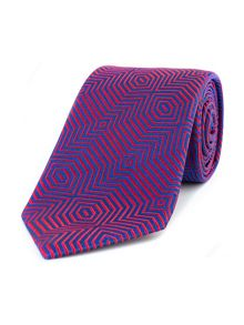Thomas Pink Wells Optical Woven Tie