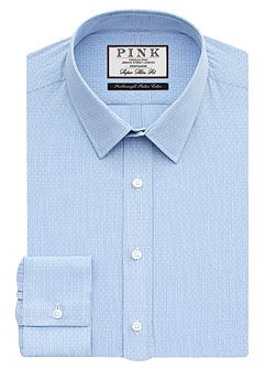 Hicks Check Super Slim Fit Shirt