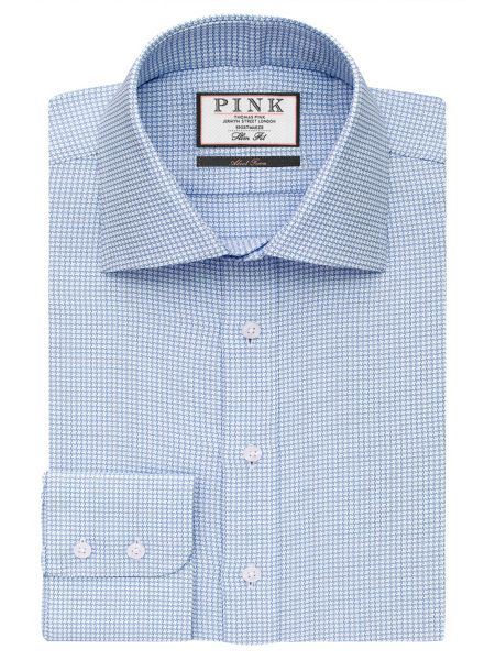 Thomas Pink James Texture Slim Fit Bc