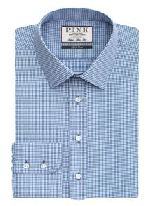 Thomas Pink Hendrick Check Super Slim Fit Bc
