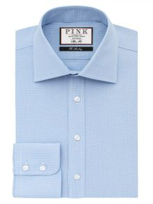 Thomas Pink Hobson Texture Slim Fit Bc