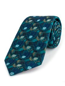 Thomas Pink Harrogate Flower Woven Tie