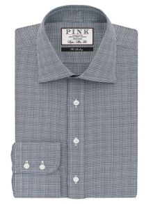 Thomas Pink Ward Check Super Slim Fit Bc