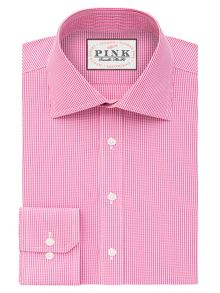 Thomas Pink Ferguson Check Slim Fit Bc