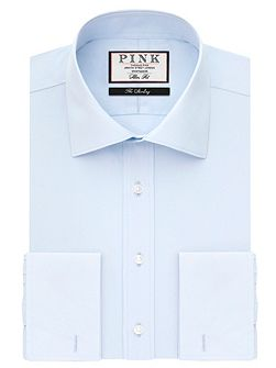 Frederick Plain Slim Fit Double Cuff Shirt