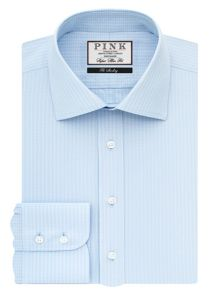 Thomas Pink Vernon Check Super Slim Fit Bc
