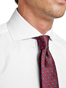 Thomas Pink Frederick Plain Slim Fit Double Cuff Shirt