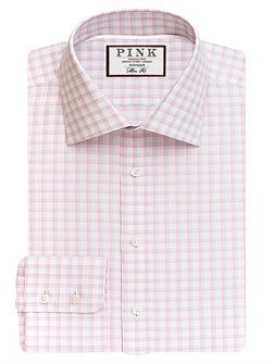 Goodall Check Slim Fit Button Cuff Shirt
