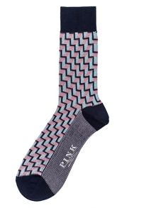 Thomas Pink Gainsborough Geo Socks