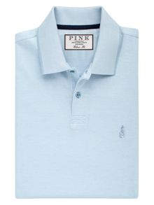 Thomas Pink Birch Plain Classic Fit Polo