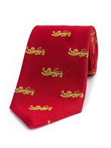 Thomas Pink Wood Woven Tie