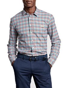 Thomas Pink Freeman Check Classic Fit Button Cuff