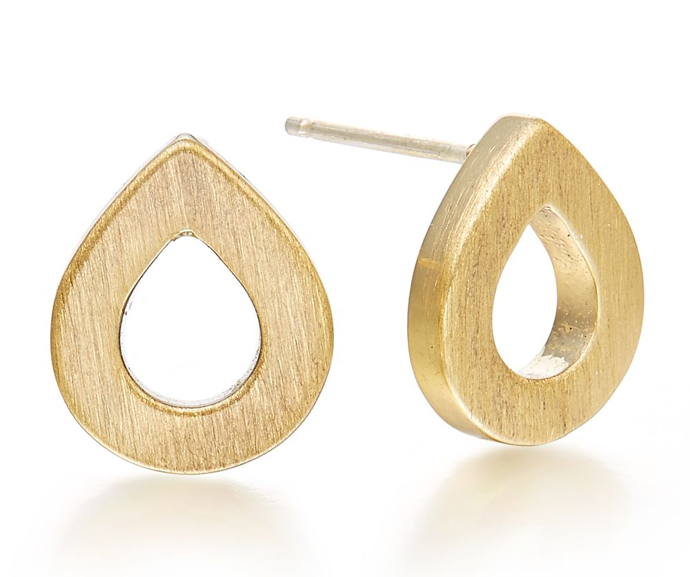 Kaytie Wu Gold Water Drop Earrings, N/A