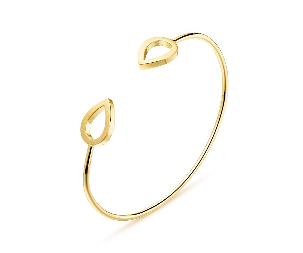 Kaytie Wu Gold Water Drop Bangle, N/A